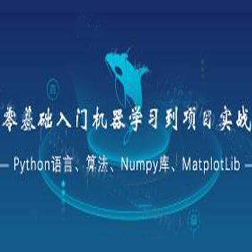 零基础入门机器学习到项目实战(Python语言、算法、Numpy库、等)